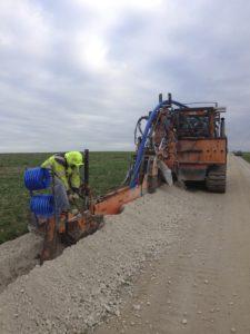 Passage de réseaux eau potable Marne