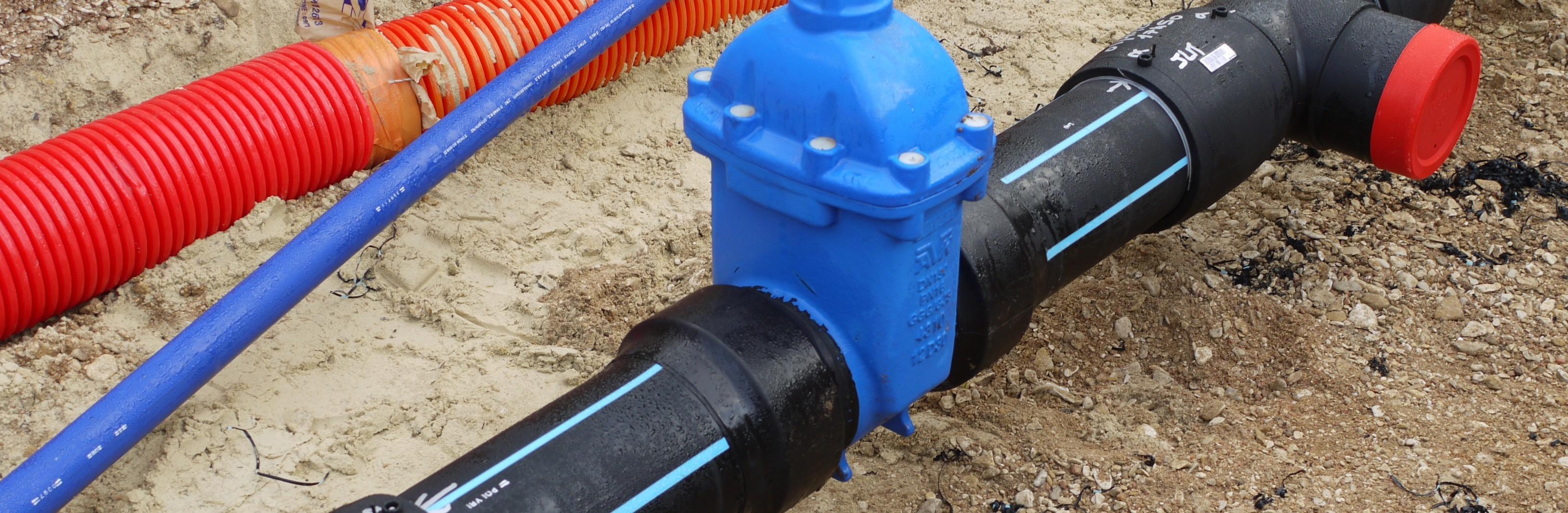 Transport d'eau potable tp Aube 10